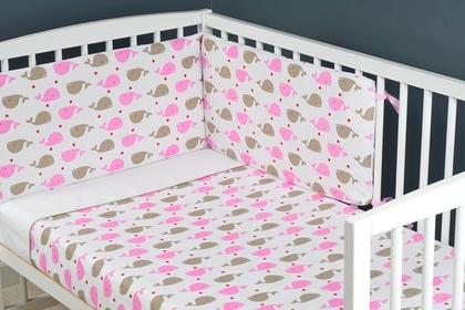 """pościel do łóżeczka """"Wieloryb RW"""" 100 x 135"""
