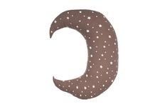 poduszeczka przytulanka Księżyc czekoladowa 40x38