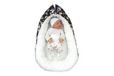 """gniazdko dla niemowlaka """"Piórka GR"""" 45 x 70"""
