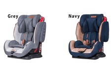Fotelik Samochodowy Coletto Sportivo Navy - granatowo- beżowy 9-36 kg