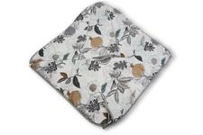 ZDJĘCIE POGLĄDOWE! Rożek Kangurek drukowany Ptaki / biała bawełna