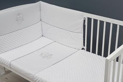 """pościel do łóżeczka """"Aniołek"""" 100 x 135"""