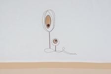 """pościel dziecięca """"Zaczarowany Las"""" ecru 100 x 135"""