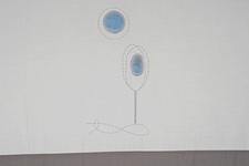 """pościel dziecięca """"Zaczarowany Las"""" niebieska 100 x 135"""