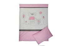 """pościel dziecięca """"Zaczarowany Las"""" różowa 100 x 135"""