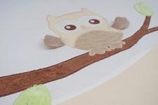 """pościel dziecięca""""Leśna Przygoda"""" ecru 100 x 135"""