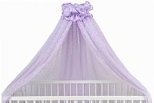 moskitiera fioletowa 140 x 500