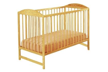 """sosnowe łóżeczko dziecięce """"Kuba II"""""""