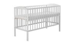 """POWYSTAWOWE białe łóżeczko dziecięce """"Radek standard"""""""