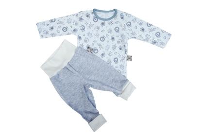"""piżama dziecięca """"Dżungla"""" niebieska"""